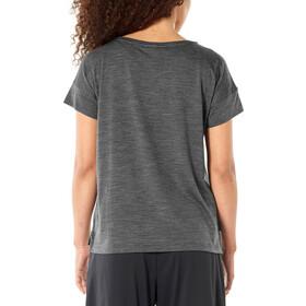 Icebreaker Via Scoop T-Shirt Damen monsoon heather